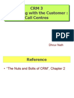 CRM 3 Call Centres