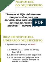 10 Principios Del Liderazgo de Jesus(1)
