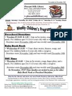 Children's Nov and Dec 2012