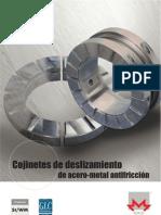 Cojinete de Deslizamiento de Acero-metal Antifriccion
