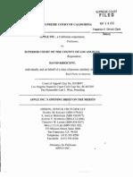 Apple v Superior Court re Krescent