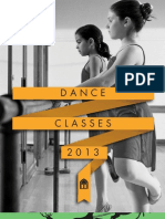 WCH Dance Programs Spring/Summer 2013