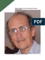 Rodolfo Gambini. Discurso al recibir uno de los Premios a la Labor Literaria 2012.