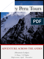 Adventure Across the Andes