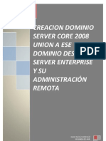 Instalación Active Directory Windows server 2008