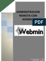 Instalación. configuración y Administración remota con WebMin
