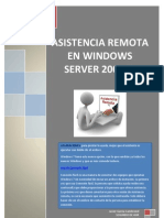 Asistencia Remota Server 2008y Windows 7