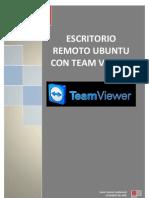 Escritorio remoto con Team Viewer en UBUNTU