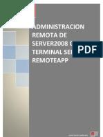 Administración remota con Terminal Server