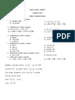 Kompleksni Brojevi - Domaci Zadatak