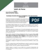 05-08-2011 Guadalajara Garantiza Derechos de Indígenas y abre Oportunidades de Desarrollo