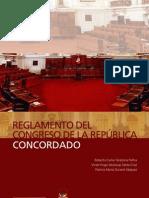 Reglamento del Congreso de la República Concordado
