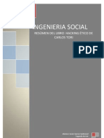 Resumen sobre la Ingenieria Social