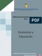 Informe de coyuntura económica N° 3 año 2011