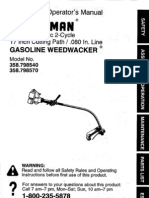 SearsWeedwacker Model 358798540