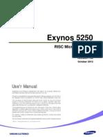 Samsung Exynos 5250 User Manual Public