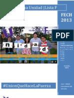 Programa UNIDAD a La Fech