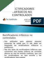7 RECTIFICADORES TRIFÁSICOS NO CONTROLADOS