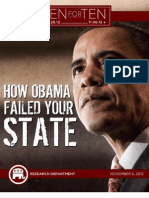 """How Obama Failed Your State - RNC """"Ten For Ten"""" eBook Series"""