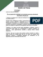 02-09-2011 Por un pacto de civilidad en el próximo proceso electoral Aristóteles Sandoval.doc
