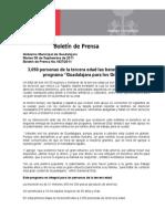 """06-09-2011 3,050 personas de la tercera edad las beneficiadas con el programa """"Guadalajara para los Grandes"""""""