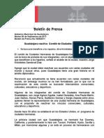 06-09-2011 Guadalajara reactiva  Comité de Ciudades Hermanas.