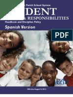 Student r&r Handbook Spanish