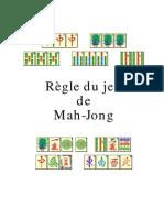 Regle Mah Jong