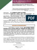 Recurso Extraordinário 1540 NOV 2012