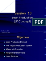 Session 13 - Lean Production