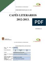 Plan de Cafés Literarios  011 BT 2012_2013