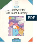 A Framework to Task-based Learning