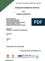 Avance de Proyecto (Hospital Regional)