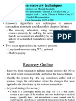 Chap6 Recovery Techniques