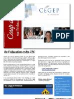 Cégep de l'Outaouais -- Coup d'oeil sur l'éducation 1(2)