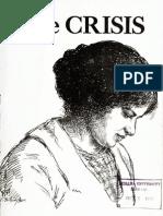 WEB Dubois Promoting Margaret Sanger in The Crisis August 1921 No. 4 Vol. 22