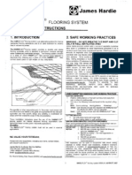 Hardiflex Flooring System