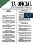 Gaceta Oficial Ley Del Ejercicio de La Medicina