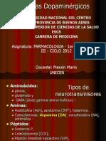 2012 XI  7 10 a 12 Sistemas dopaminérgicos. Para Publicar