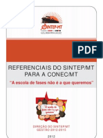 Referencias Do Sintep Para a CONEC
