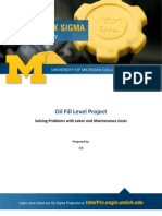 6σ Student Case Study UMICHCE - Oil Fill Level