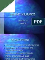 Marine Insurance - Losses
