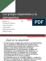Los Griegos Alquimistas y La Iatroquimica