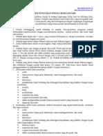 Petunjuk Penulisan Jurnal Bumi Lestari