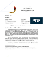 OWS Money Market Comment Letter