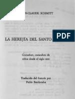La herejía del Santo Lebrel- Jean-Claude Schmitt