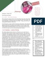 September October Newsletter
