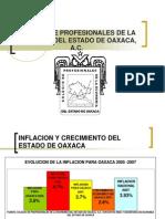 Economia Del Estado de Oaxaca. Situacion 2007