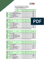 Plan de 20 Estudios de Electronica 2011-II
