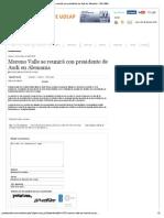 12-10-12 Puebla Online  - Moreno Valle se reunirá con presidente de Audi en Alemania